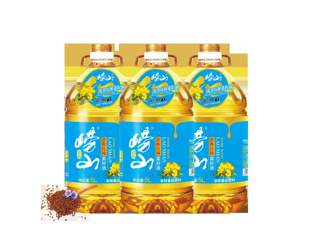浓香压榨菜籽油