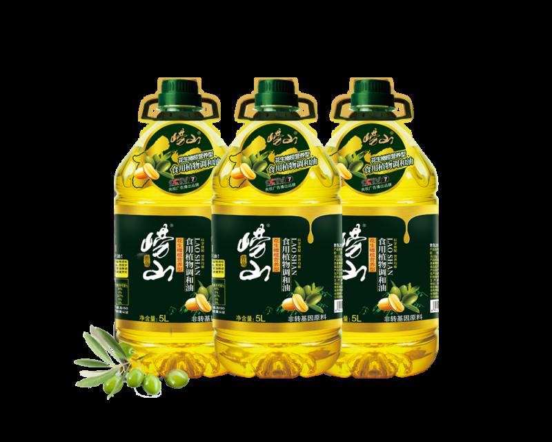 花生橄榄营养型食用植物调和油